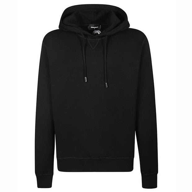 DSQUARED2 Black ICON Hoodie Hoodie DSQUARED2