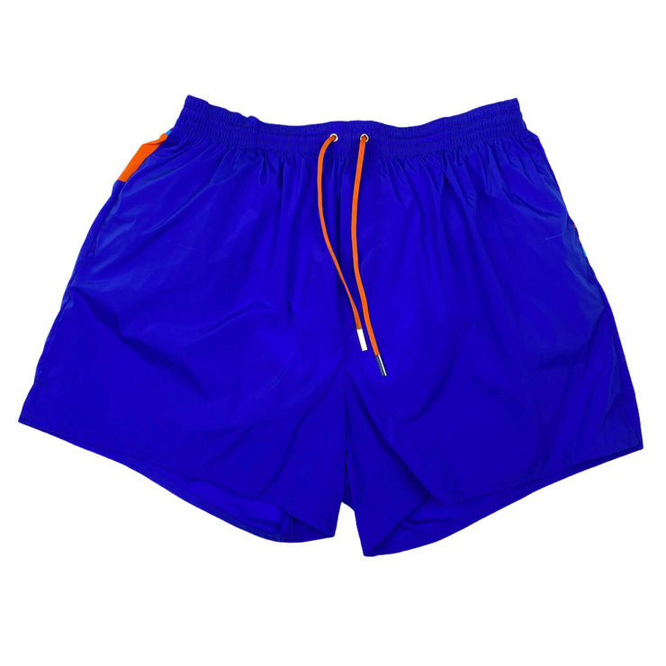 DSQUARED2 Blue & Orange Swimshorts - DANYOUNGUK