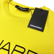 DSQUARED2 Yellow Milano Logo T-Shirt - DANYOUNGUK