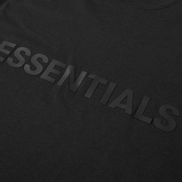 ESSENTIALS x FOG Black T-Shirt - DANYOUNGUK
