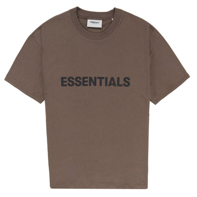 ESSENTIALS x FOG Brown T-Shirt - DANYOUNGUK