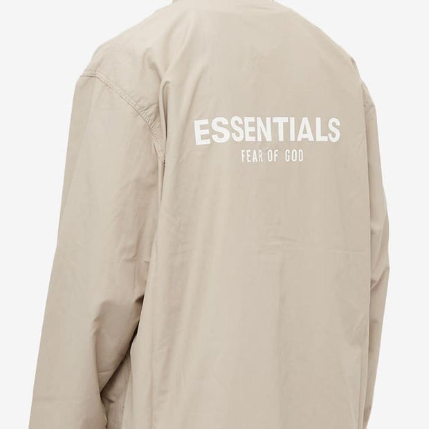 ESSENTIALS x FOG Charcoal Coach Jacket - DANYOUNGUK