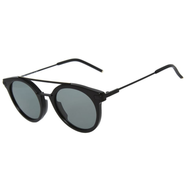 Fendi Black Round Aviator Sunglasses Sunglasses Fendi