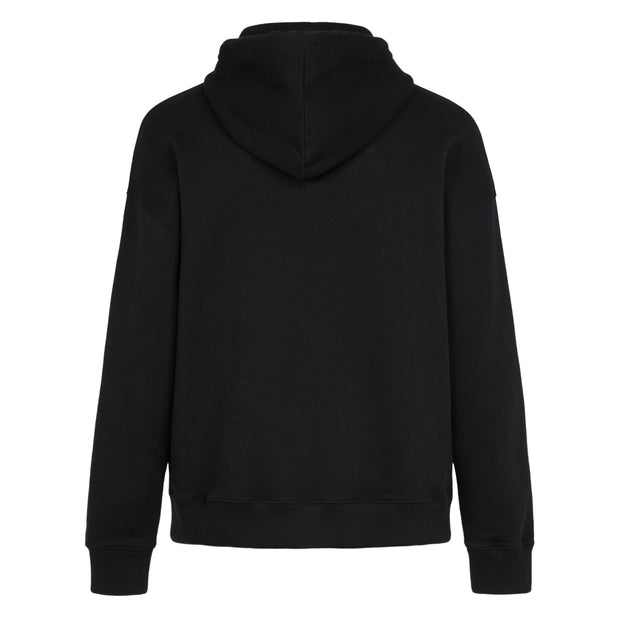 Givenchy Black Embossed Logo Hoodie Hoodie Givenchy