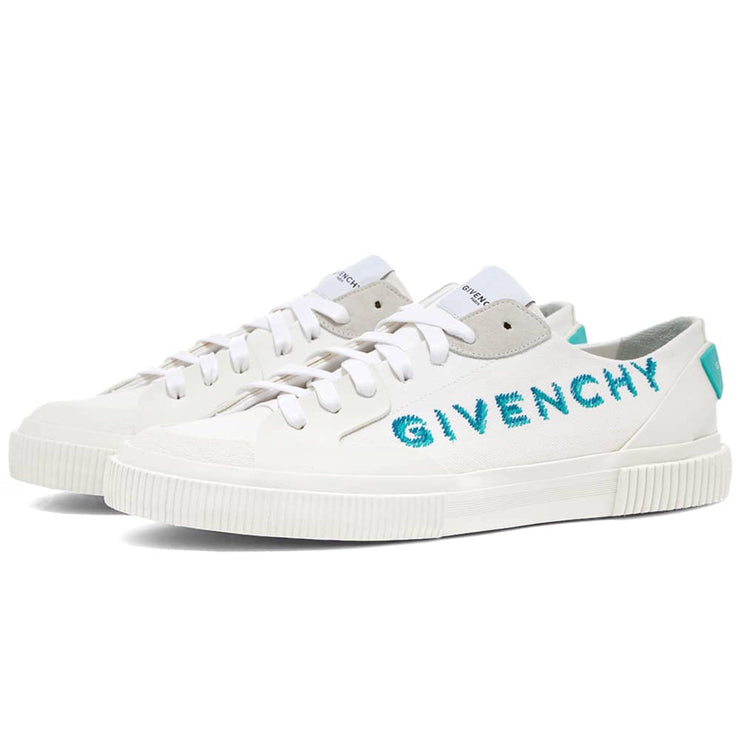 Givenchy Tennis Embroidered Trainers Trainers Givenchy