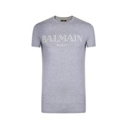 Kids Balmain Paris Grey T-Shirt Kids T-Shirt Balmain