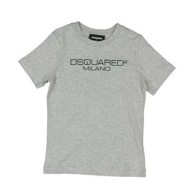 Kids Grey DSQUARED2 Milano T-Shirt Kids T-Shirt DSQUARED2
