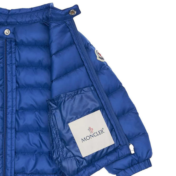 Kids Moncler Blue Down Jacket Kids Jacket Moncler