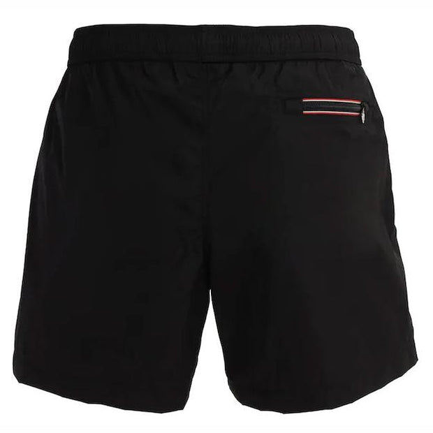 Moncler Black Nylon Swimshorts Swimwear Moncler