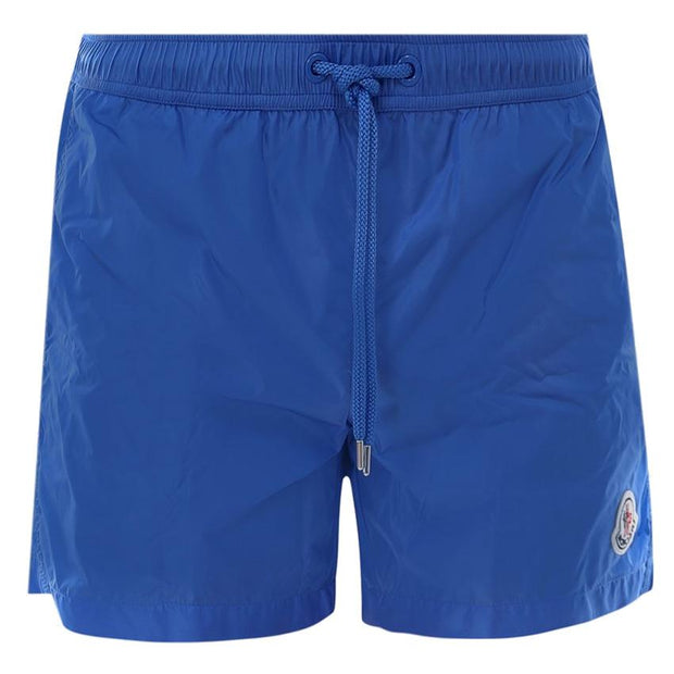 Moncler Blue Nylon Swimshorts Swimwear Moncler