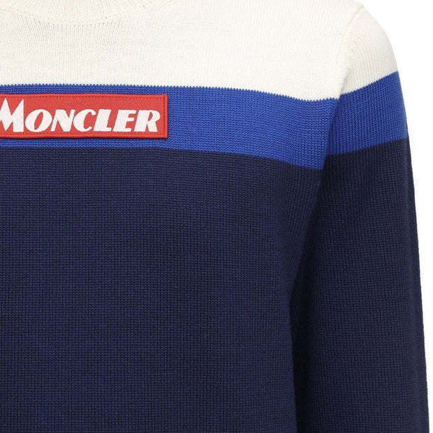 Moncler Colour Block Wool Crewneck - DANYOUNGUK