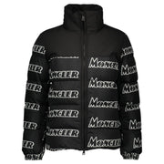 Moncler Faiveley Logo Print Quilted Down Jacket Coat Moncler