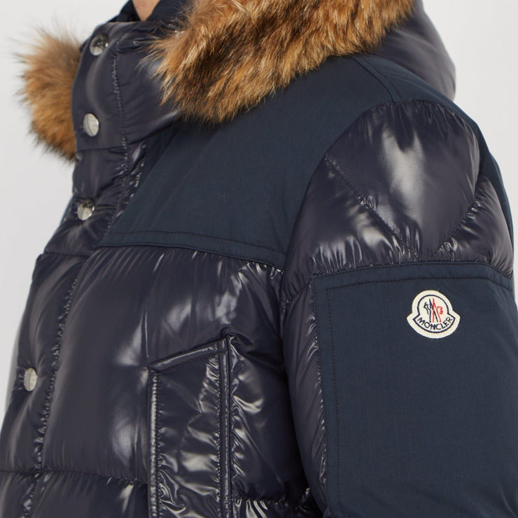 Moncler Frey Hooded Fur Down Parka - DANYOUNGUK