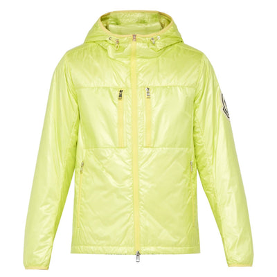 Moncler Genius Yellow Logo Down Jacket - DANYOUNGUK