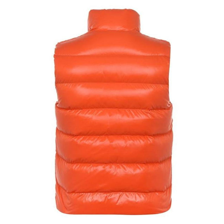 Moncler Orange Down Bodywarmer - DANYOUNGUK