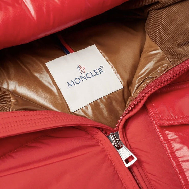 Moncler Red Eloy Down Jacket - DANYOUNGUK
