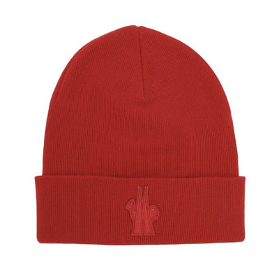 Moncler Red Grenoble Wool Beanie - DANYOUNGUK