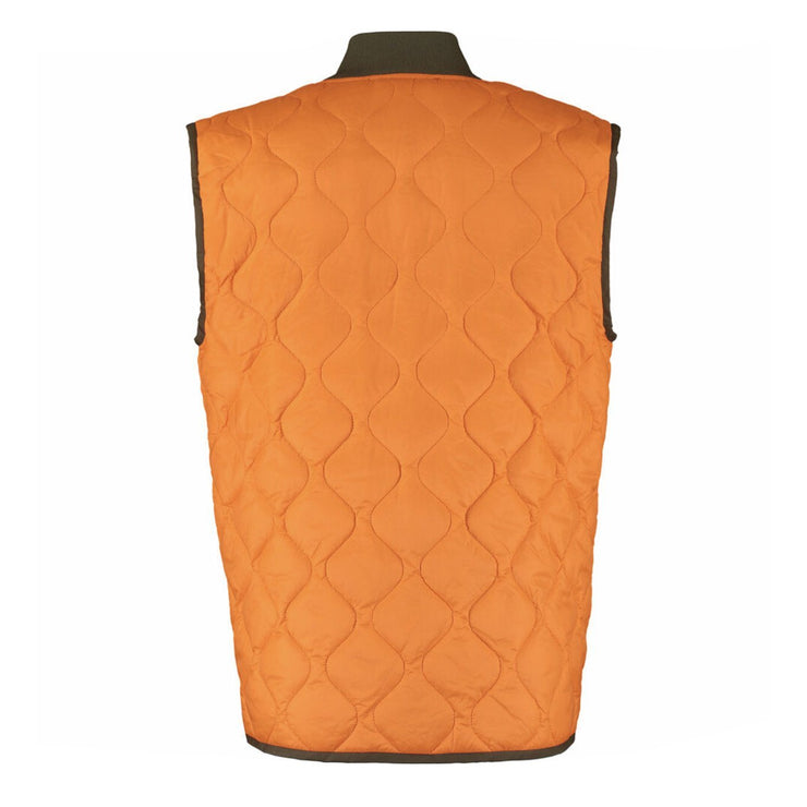 Moschino Orange Pocket Quilted Bodywarmer - DANYOUNGUK