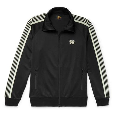 Needles Black Webbing Track Jacket - DANYOUNGUK