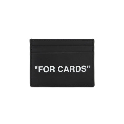 Off-White Black Cardholder - DANYOUNGUK