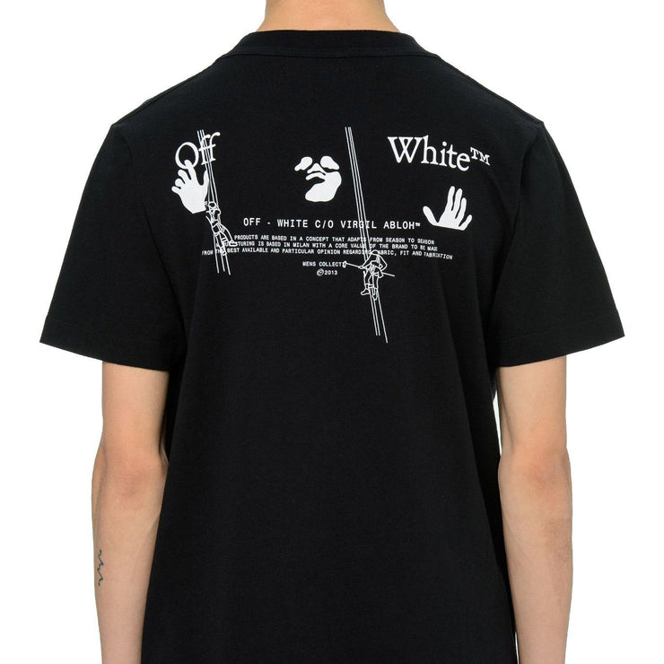 Off-White Black Workers T-Shirt T-Shirt Off-White