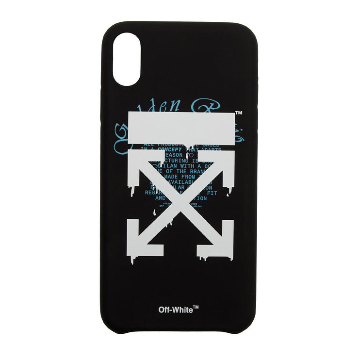 Off-White iPhone XS Max Case - DANYOUNGUK