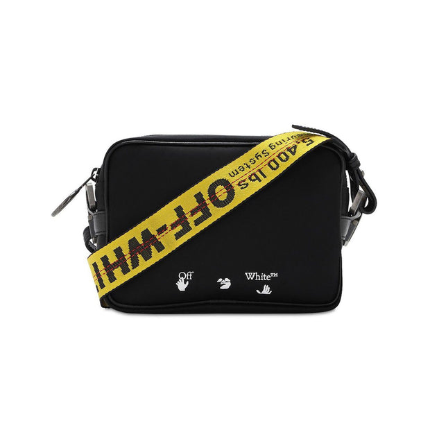 Off-White Nylon Crossbody Industrial Strap Bag - DANYOUNGUK