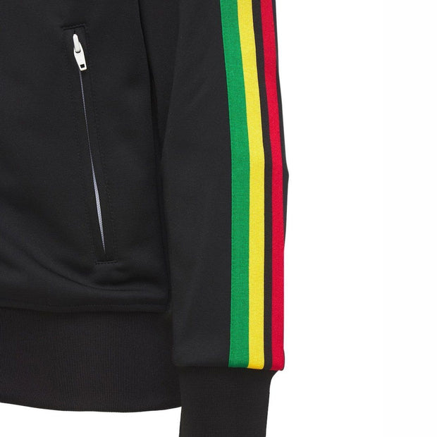 Palm Angels Black Track Jacket Jacket Palm Angels