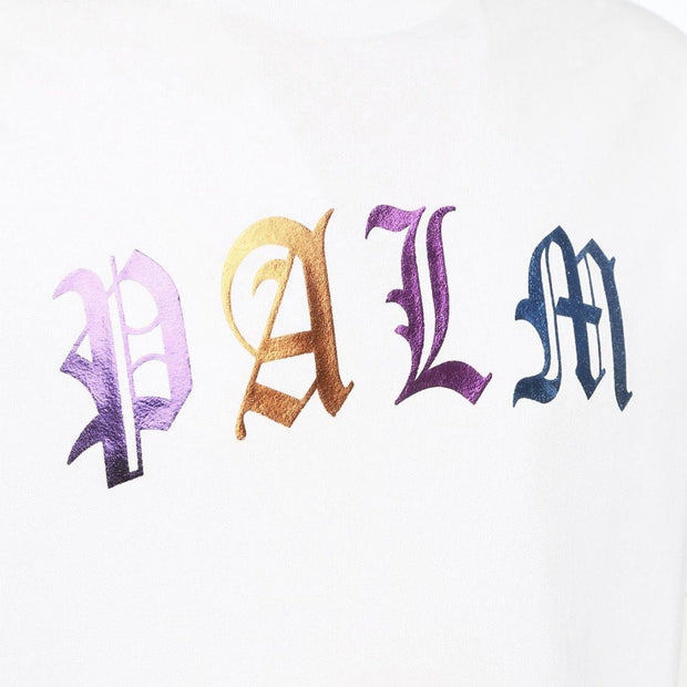 Palm Angels White PALM Logo Tee T-Shirt Palm Angels