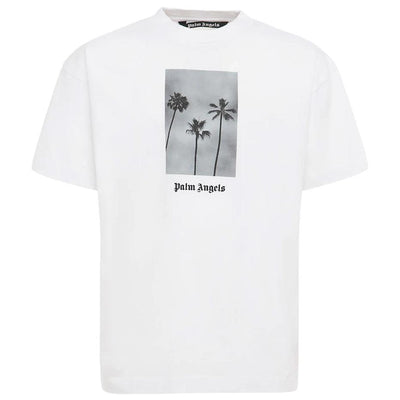 Palm Angels White T-Shirt T-Shirt Palm Angels