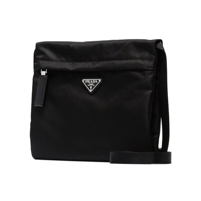 Prada Black Folded Messenger Bag - DANYOUNGUK