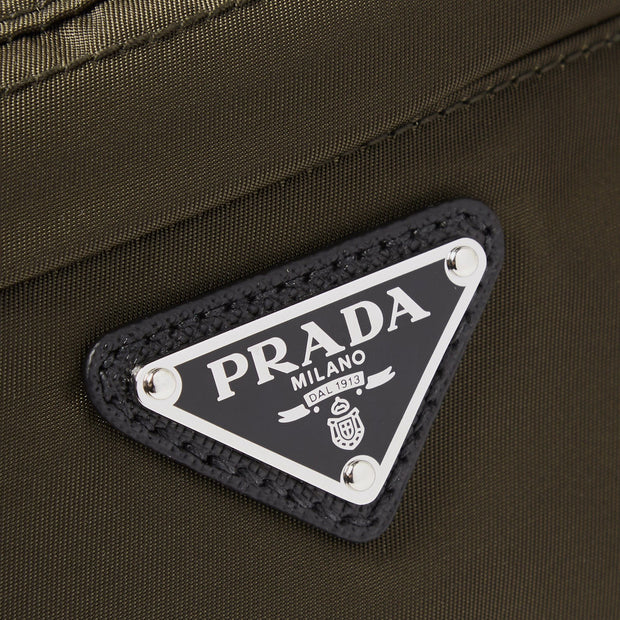 Prada Khaki Nylon Crossbody Bag - DANYOUNGUK