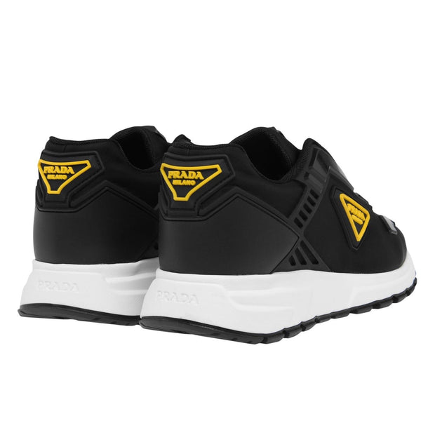 Prada PRAX01 Black & Yellow Trainers - DANYOUNGUK