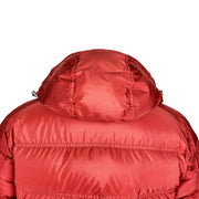 Prada Red Hooded Down Jacket - DANYOUNGUK