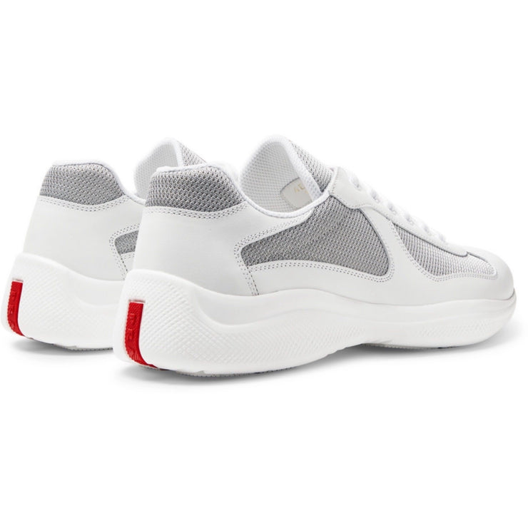 Prada White Leather Americas Cup - DANYOUNGUK