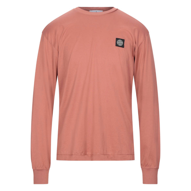 Stone Island Long Sleeve Patch Logo Tee - DANYOUNGUK