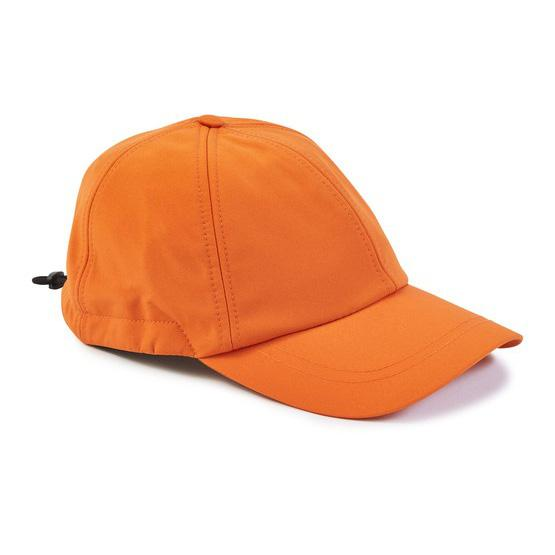 Stone Island Orange Soft Shell R Cap Cap Stone Island