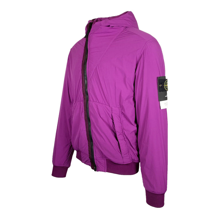 Stone Island Purple Comfort Tech Composite Jacket - DANYOUNGUK