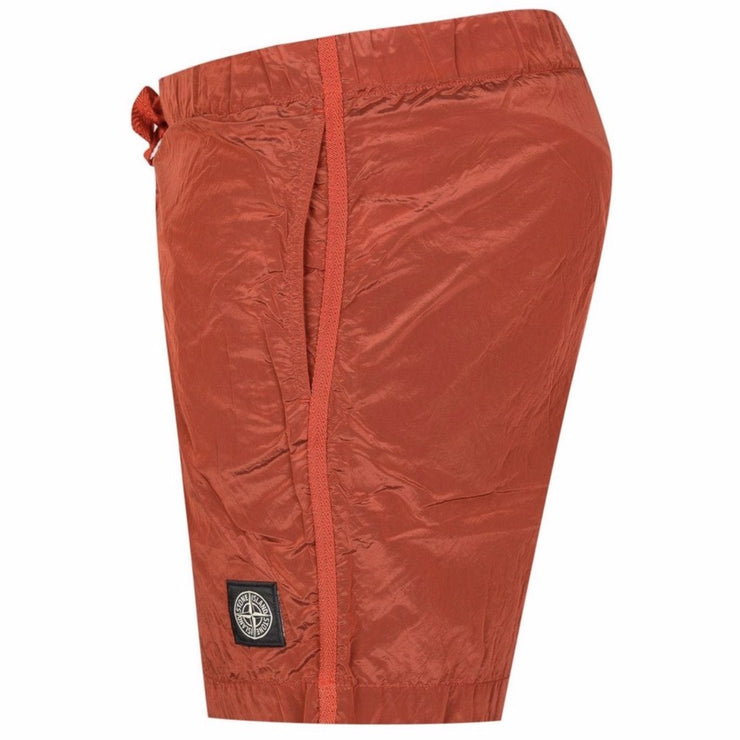 Stone Island Red Nylon Metal Swimshorts - DANYOUNGUK