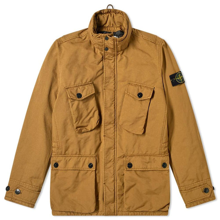 Stone Island Tobacco David TC Primaloft Field Jacket Coat Stone Island