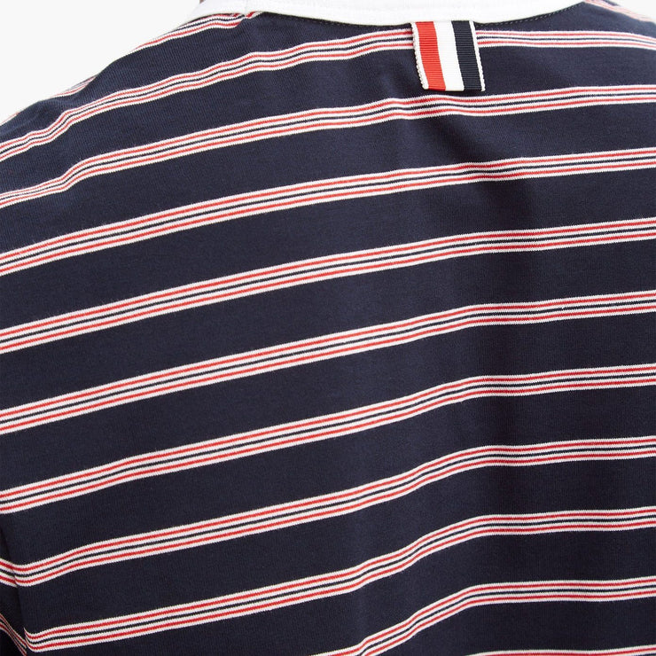 Thom Browne Striped Cotton T-shirt - DANYOUNGUK