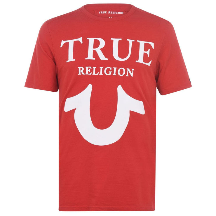 True Religion Red Logo T-Shirt T-Shirt True Religion