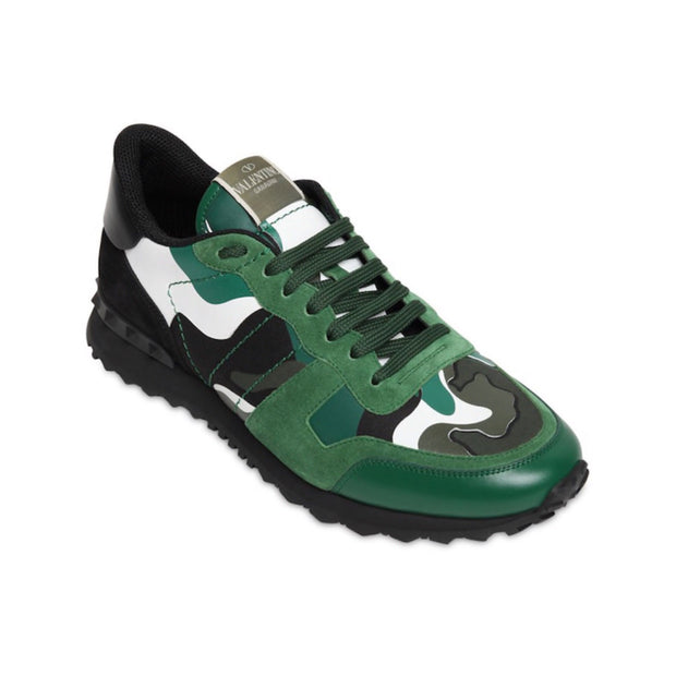 Valentino Green Camouflage Rockrunner - DANYOUNGUK