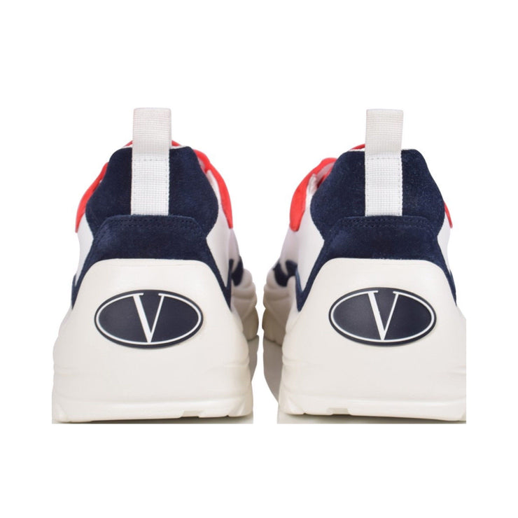 Valentino Navy White Red Bansi Runner Trainers Valentino