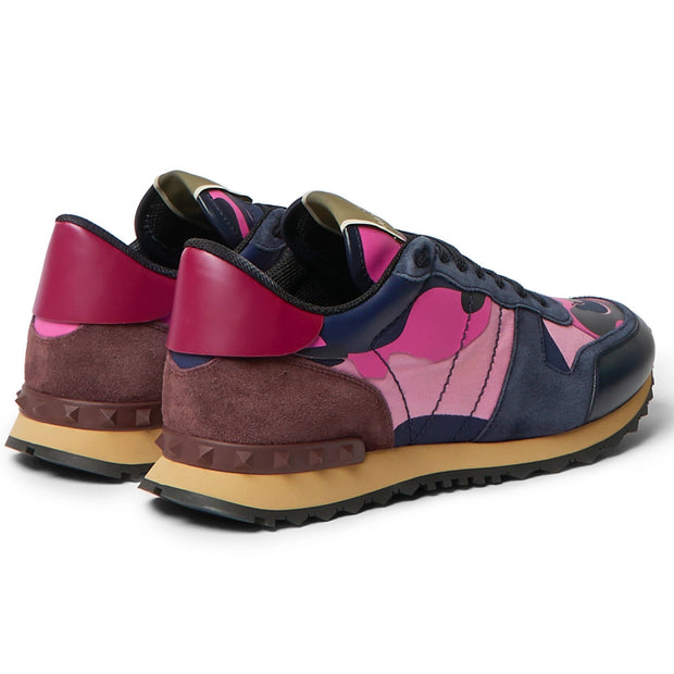 Valentino Pink Camouflage Rockrunners - DANYOUNGUK