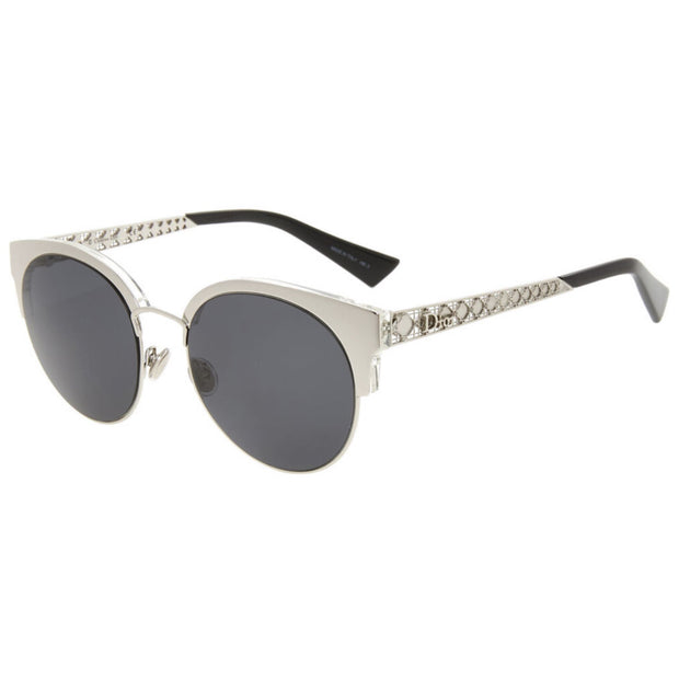 Womens Christian Dior Silver Sunglasses Womens Sunglasses Dior