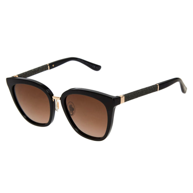 Womens Jimmy Choo Black Sunglasses Womens Sunglasses Jimmy Choo