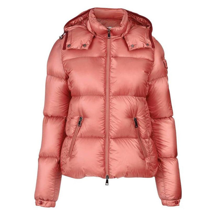 Womens Moncler Pink Fourmi Down Jacket - DANYOUNGUK