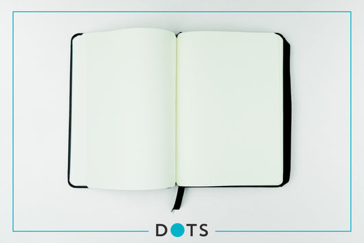 DOTS Monthly Planner & Notebook 2021