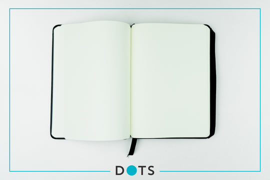 DOTS Monthly Planner & Notebook 2019